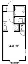 フミショーハイツ[2階]の間取り