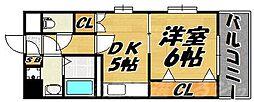 リファレンス小倉[3階]の間取り