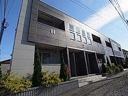 千葉県野田市中野台の賃貸マンションの外観