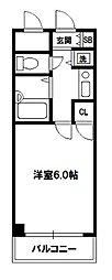 リーガル新大阪III[8階]の間取り