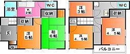 [一戸建] 東京都北区志茂5 の賃貸【東京都 / 北区】の間取り