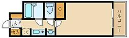 ステラハウス9[2階]の間取り