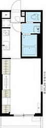 JR横浜線 成瀬駅 徒歩10分の賃貸アパート 2階1Kの間取り