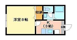 ソレーユ久居[2階]の間取り