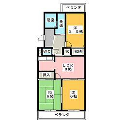 DM41[2階]の間取り