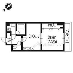 阪急嵐山線 桂駅 バス14分 国道沓掛口下車 徒歩3分の賃貸マンション