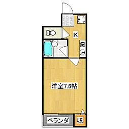 レジデンス和光[5階]の間取り