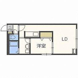 麻生アクアリオ[2階]の間取り