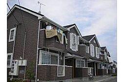 愛知県岡崎市中島町字流の賃貸アパートの外観