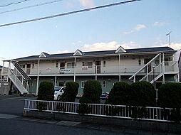 滋賀県草津市野村7丁目の賃貸アパートの外観