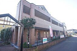茨城県つくばみらい市板橋の賃貸アパートの外観