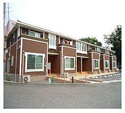 山梨県北杜市長坂町長坂上条の賃貸アパートの外観