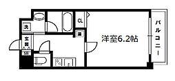 グレイスレジデンス大阪WEST[9階]の間取り