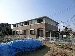 愛知県北名古屋市法成寺南出の賃貸アパートの外観