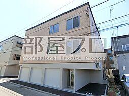 北海道札幌市東区北三十七条東27丁目の賃貸アパートの外観
