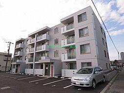 北海道札幌市東区北三十二条東18丁目の賃貸マンションの外観