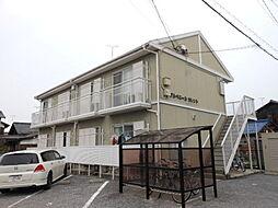 滋賀県彦根市栄町1丁目の賃貸アパートの外観