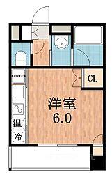 トーシン阪南町ビル[6階]の間取り