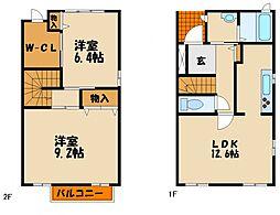 [タウンハウス] 兵庫県神戸市西区南別府4丁目 の賃貸【/】の間取り