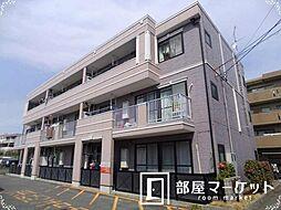 愛知県豊田市小坂町15丁目の賃貸アパートの外観