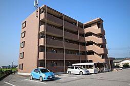栃木県鹿沼市上殿町の賃貸マンションの外観
