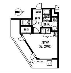 トムリーノ[3階]の間取り
