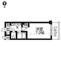 エステムプラザ京都烏丸五条[9階]の間取り