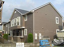 京都府城陽市水主塚ノ木の賃貸アパートの外観