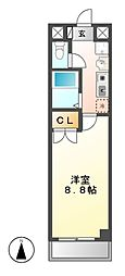 レイキャビック稲永[2階]の間取り