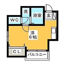連歌館[3階]の間取り