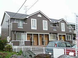 愛知県北名古屋市鹿田花の木の賃貸アパートの外観