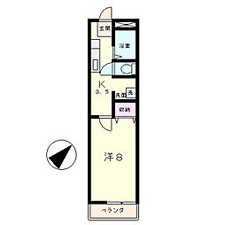 PURE HOUSE[1階]の間取り