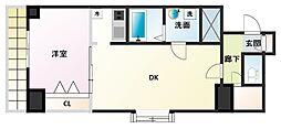 ノルデンタワー新大阪アネックス[5階]の間取り
