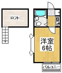 セピア志木[2階]の間取り