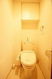 ベルファース蒲田の温水洗浄便座つきトイレ