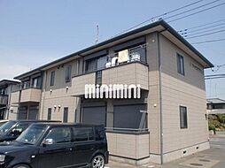 シャインミヤマエE[1階]の外観