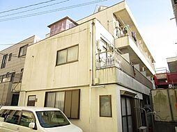 埼玉県草加市栄町2丁目の賃貸マンションの外観