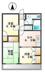 エクセレントI(アイ)[1階]の間取り
