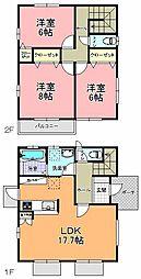 [一戸建] 茨城県水戸市見川2丁目 の賃貸【/】の間取り