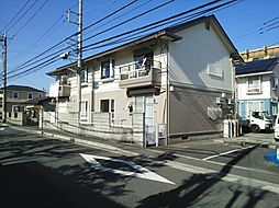 神奈川県海老名市東柏ケ谷4丁目の賃貸アパートの外観