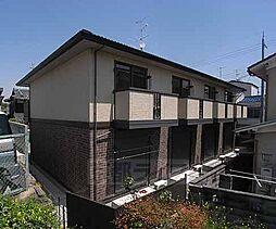 京都府京都市南区上鳥羽川端町の賃貸アパートの外観