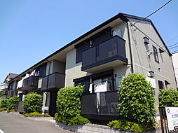 東京都西東京市東町6の賃貸アパートの外観