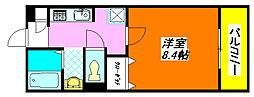 アリエッタ・西堤 202号室[2階]の間取り