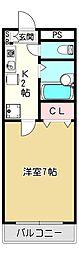 アベニューリップル長田I(606)[6階]の間取り