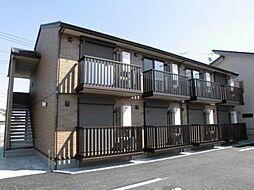 埼玉県本庄市早稲田の杜3丁目の賃貸アパートの外観