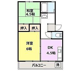 高崎昭和ビル[303号室]の間取り