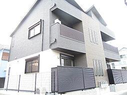 兵庫県明石市小久保6丁目の賃貸アパートの外観