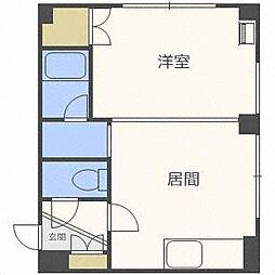 アーヴァンTOMO[2階]の間取り