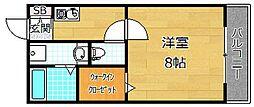 G.S.Coto[2階]の間取り