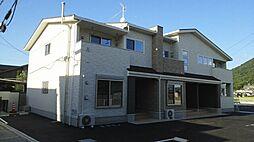 香川県丸亀市飯野町東二の賃貸アパートの外観